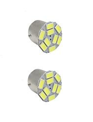 2PCS 3.5W white DC12v 1156 1157 BAY15D 9led 5730SMD  LED Auto Lamps Car Turn Signal Lights High Quality BAY15D