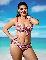 preiswerte -Damen Boho Bikinis Halter