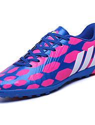 Men's Shoes PU Spring Fall Comfort Athletic Shoes Soccer Shoes Lace-up For Casual Black Blue