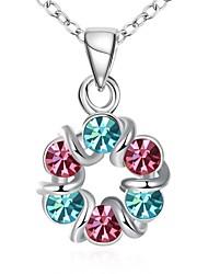 Women's Choker Necklaces Pendant Necklaces Chain Necklaces Cubic Zirconia Rhinestone AAA Cubic Zirconia Bowknot Geometric Irregular