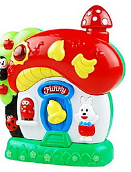 Toy Instruments Toys House Plastics Pieces Kids' Gift