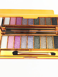 abordables -9 sombra de ojos de color de diamante brillante brillo brillo flash brillo sombra de ojos maquillaje cosmético paleta