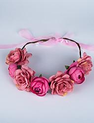 Недорогие -ткань цветы головной убор свадебная вечеринка элегантный классический женский стиль