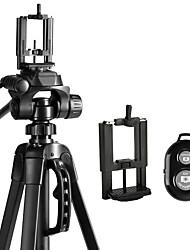 abordables -weifeng aleación de aluminio 68 3 secciones universal teléfono inteligente trípode