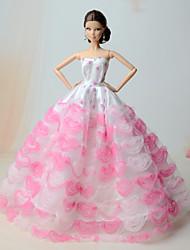 preiswerte -Kleider Kleider Für Barbie-Puppe Kleider Für Mädchen Puppe Spielzeug