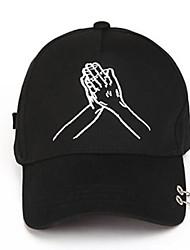 Women's Cotton Baseball Cap,Hat Solid Spring/Fall Summer