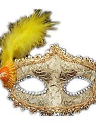 economico -Maschere di Halloween Maschera in pizzo Giocattoli Feste Di pizzo Pizzo A tema horror Pezzi Unisex Regalo
