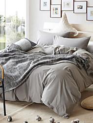 cheap -Nature 4 Piece Cotton Cotton 1pc Duvet Cover 2pcs Shams 1pc Fitted Sheet