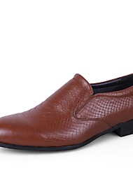 Men's Loafer & Slip-On Driving Shoe Formal Shoe Comfort Spring Fall Real Leather Cowhide Nappa Leather Wedding Casual Outdoor Office &