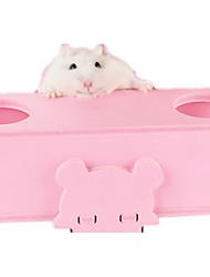 abordables -Rongeurs Hamster Bois Jouets Bleu Rose