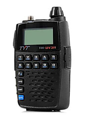abordables -Tyt th - uv3r vhf / uhf talkie-walkie à double bande programmable radio bidirectionnel émetteur récepteur fm interphone portatif