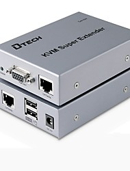 VGA USB Tipo B Switch, VGA USB Tipo B to VGA USB 2.0 RJ45 Switch Femmina/femmina