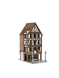 abordables -Puzzles 3D Puzzle Maquette en Papier Bâtiment Célèbre Architecture 3D Articles d'ameublement polystyrène EPS + EPU Unisexe Cadeau