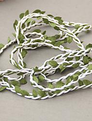 Недорогие -4.0 Филиал Полиэстер Pастений Цветы на стену Искусственные Цветы