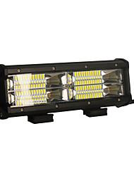 baratos -2pcs 144w 14400lm 6000k 3-linhas conduzido luz de trabalho leve luz branca de incandescência luz de condução offroad para carro / barco /