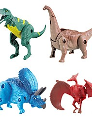 cheap -Animals Action Figures Model Building Kits Toys Dinosaur Animal Eco-friendly Transformable DIY ABS Kids' 1 Pieces