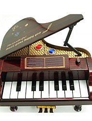 Music Box Toys Piano Plastic Pieces Unisex Gift