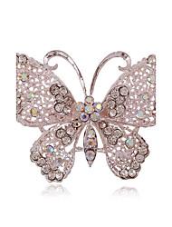levne -Dámské Brože Rozkošný minimalistický styl Slitina Animal Shape Motýl Šperky Pro Párty Denní