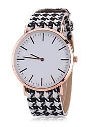 Недорогие -Жен. Нарядные часы Модные часы Наручные часы Китайский Кварцевый PU Группа С подвесками Повседневная Элегантные часы Черный Белый Красный