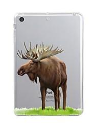 economico -Per iPad (2017) Custodie cover Transparente Fantasia/disegno Custodia posteriore Custodia Halloween Morbido TPU per Apple iPad (2017)