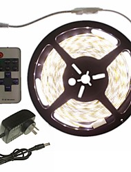 5m 300x5050led strip light sets não impermeável 11 chave controlador ac100-240v au / eu / us / uk power plug dc12v 2a