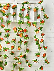 50 Филиал Ротанг Розы Пионы Цветы на стену Искусственные Цветы