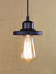 cheap -Retro Pendant Light Ambient Light - Mini Style / Bulb Included / Designers Bulb Included