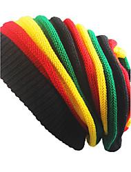 Недорогие -Для взрослых Шапки Широкополая шляпа,Весна/осень Зима Хлопок Однотонный Чистый цвет