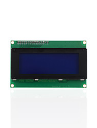 cheap -Keyestudio I2C LCD 20X4 2004 LCD Display Module UNO R3 MEGA 2560 R3 White Letters on Blue Backlight