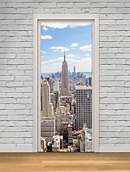Famous Landscape 3D Wall Stickers Plane Wall Stickers 3D Wall Stickers Decorative Wall Stickers 3D,Paper Material Home Decoration Wall