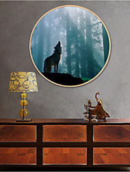 Animal Framed Art Print Frame Art Wall Art,Wood Material With Frame For Home Decoration Frame Art Living Room Dining Room Office 1 Piece