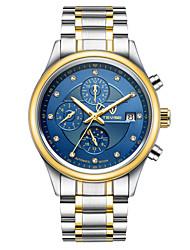 Недорогие -Муж. Механические часы Спортивные часы Часы со скелетом Модные часы Китайский С автоподзаводом Календарь Защита от влаги Фосфоресцирующий
