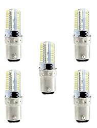4W Ampoules Maïs LED 80 SMD 3014 360 lm Blanc Chaud Blanc 3000-3500  6000-6500 K Intensité Réglable AC110 AC220 V