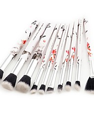 cheap -10pcs Contour Brush Foundation Brush Powder Brush Fan Brush Concealer Brush Brow Brush Lip Brush Eyeshadow Brush Blush Brush Makeup Brush