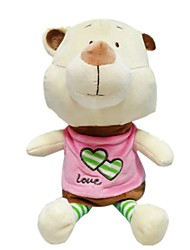 cheap -Bear Stuffed Animal Plush Toy Cute Cartoon Design Classic Girls' Toy Gift 1 pcs
