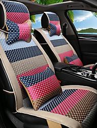 preiswerte -Karikatur Regenbogen Leder Seide Material Auto Sitz Kissen Sitz Sitz Sitz vier Jahreszeiten General all around-3 #