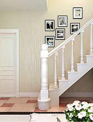 Print Wallpaper For Home Archaistic Wall Covering , Non-woven fabric Material Adhesive required Wallpaper , Room Wallcovering