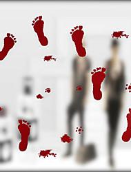 economico -adesivi murali macchiati di sangue adesivi murali horror in vetro decorazione sangue