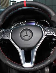 автомобильный Чехлы на руль(Кожа)Назначение Mercedes-Benz Все года GLC Класс E Класс C Класс B B200
