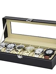 Недорогие -Коробки для часов Кожа Аксессуары для часов 0.75 kg Инструменты
