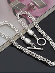 Pánské Obojkové náhrdelníky Šperky Drak Postříbřené minimalistický styl Šperky Pro Denní