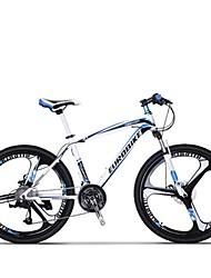 Mountain Bike Cycling 27 Speed 26 Inch/700CC MICROSHIFT TS70-9 Disc Brake Suspension Fork Steel Frame Carbon Anti-slipAluminum Alloy