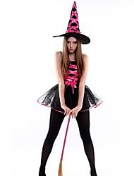 Sorcière Tenue Féminin Noël Halloween Fête / Célébration Déguisement d'Halloween Mosaïque