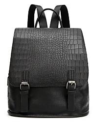 preiswerte -Damen Taschen PU Rucksack Muster / Druck für Normal Ganzjährig Schwarz