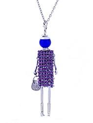 Dámské Prohlášení Náhrdelníky Šperky Krajka Slitina Luxus Cikánské Šperky Pro Podium Klub