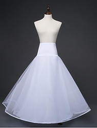 Wedding Bridal Shower Slips Alloy Organza Tea-Length Basic With