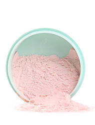 3 Colors Smooth Loose Powder Makeup Transparent Finishing Powder Waterproof Cosmetic Puff For Face Finish