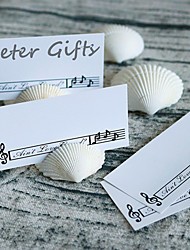 cheap -4pcs/lot Natural Seashells Card Holder -Random Size Shipment - Beter Gifts® Party Decoration