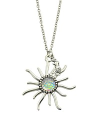 Women's Pendant Necklaces Jewelry Flower Jewelry Shell Alloy Basic Fashion Jewelry For Daily Casual