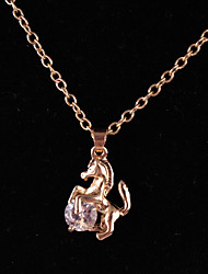 cheap -Women's Pendant Necklace - Horse, Animal Fashion Gold Necklace For Birthday, Gift